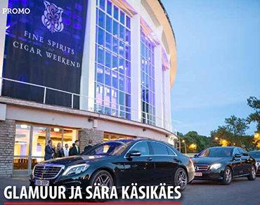 Glamuur ja sära käsikäes suurel sigarifestivalil Tallinnas